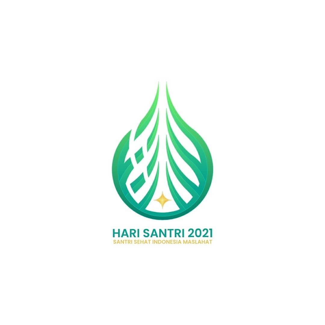 Logo Resmi Hari Santri 2021