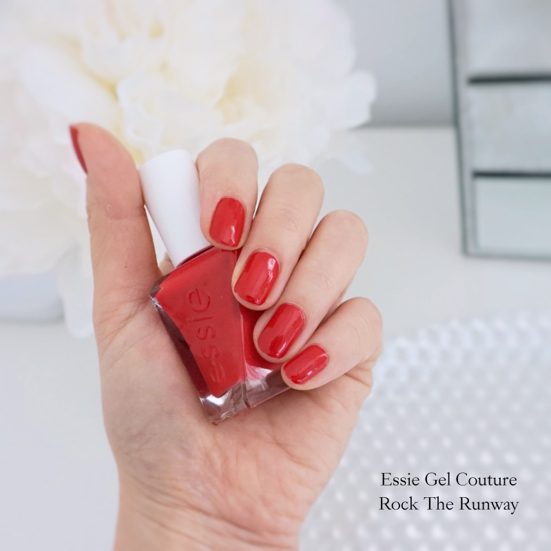 Essie Gel Couture Rock The Runway NOTD swatch