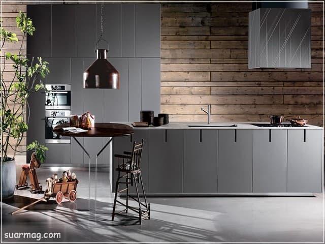 مطابخ خشب 2020 11   Wood Kitchens 2020 11