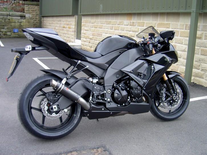 Fast Havey Bikes Kawasaki Zx10r Black