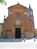 The church of Santa Maria Assunta in Castelmaggiore, near Bologna
