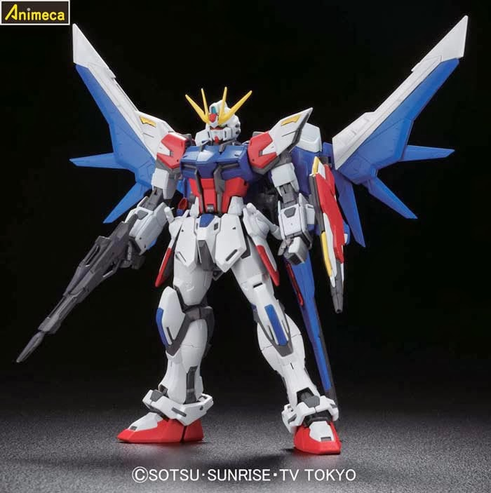 STRIKE GUNDAM FULL PACKAGE MASTER GRADE (MG) 1/100 MODEL KIT GUNDAM BUILD FIGHTERS BANDAI