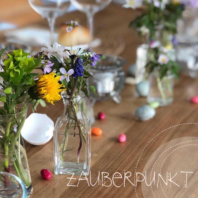 Tischdekoration  Ostern, Frühling, Frühlingsblumen, Zuckereier,  bunt, Tablesetting, Springtime, Herbs, Homesweethome, Daheim ist es am schönsten, Gemütlich,