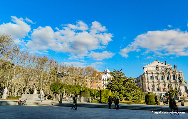 Plaza de Oriente, Madri