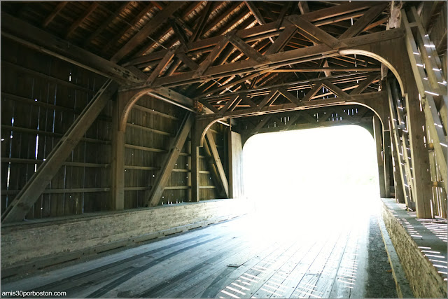 Hancock – Greenfield Covered Bridge en New Hampshire