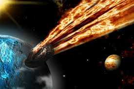 Um Grande Meteoro está preste a cair na Terra