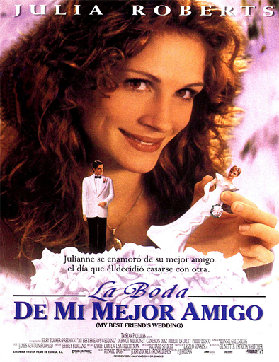 ver La boda de mi mejor amigo (My Best Friend's Wedding) (1997) Online