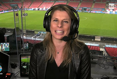 Katia Serra prima donna a commentare finale della Nazionale Italiana