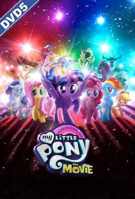 My Little Pony: The Movie 2017 DVD R1 NTSC Latino