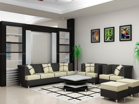 Desain Ruang Tamu Rumah Minimalis Tipe 54
