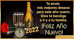 Frases de feliz año nuevo 2022 familia