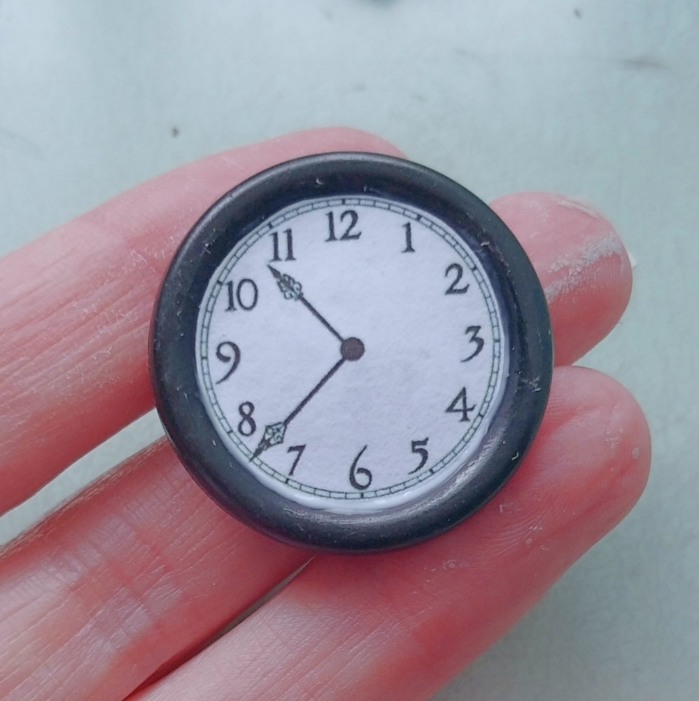 miniature wall clock