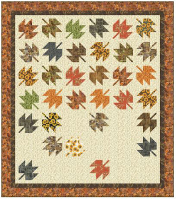maple leaf quilt by robert kaufman