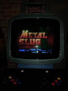 metal slug x arcade