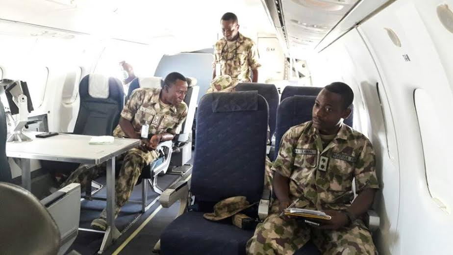 4 Photos: Troops clear Boko Haram camp in Sambisa Forest, rescue 41 hostages