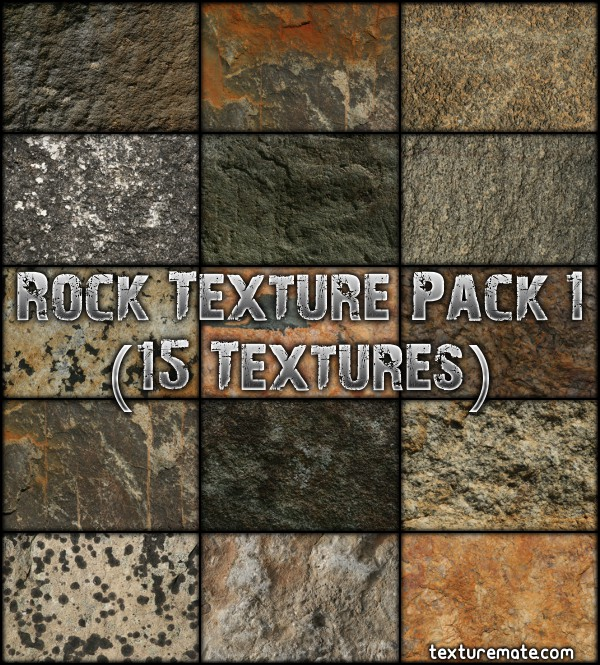 Free Texture Pack for Commercial Use - Rock 1