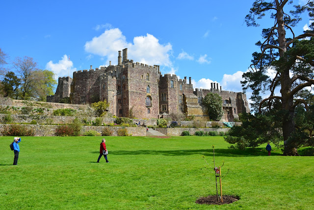 Exploring the grounds of Berkeley Castle in Bristol, England