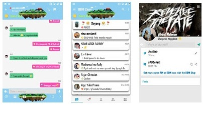 BBM Mod Full Color Version 3.0.1.25 Apk Terbaru