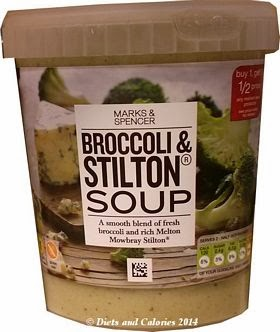 Marks & Spencer Broccoli & Stilton Soup
