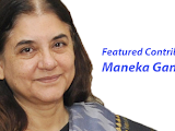 An  article by Maneka Gandhi