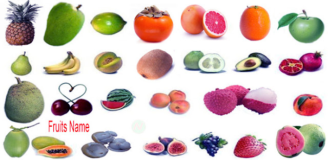 fruits, fruits name, fruits names, ফল, ফলের নাম, fruits name with picture, list of all fruits, fruits vocabulary