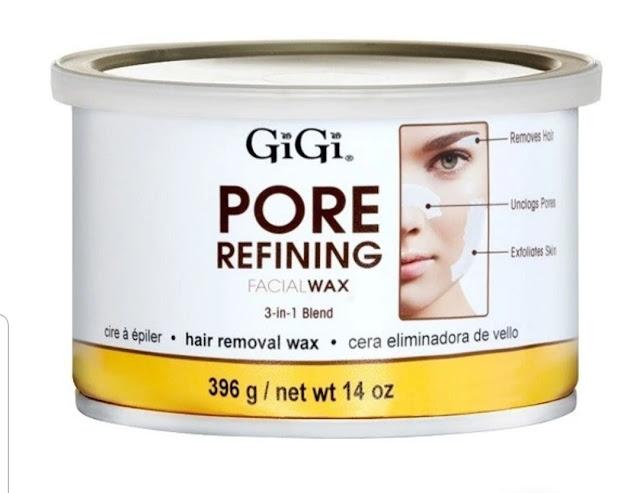 gigi pore refining wax