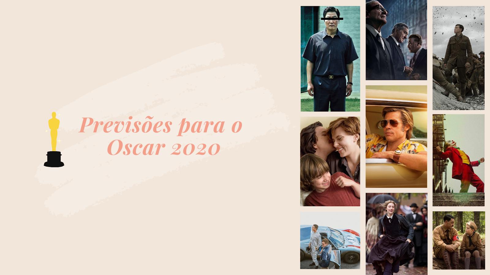 Previsões para o Oscar 2020 - Pensando Por Aí