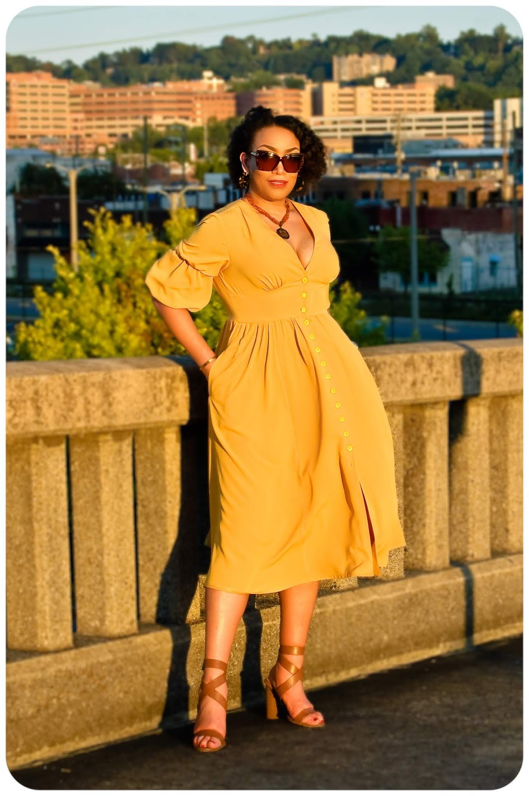 McCall's 7974 - Inspired by Cult Gaia Willow Dress - Erica Bunker DIY Style!