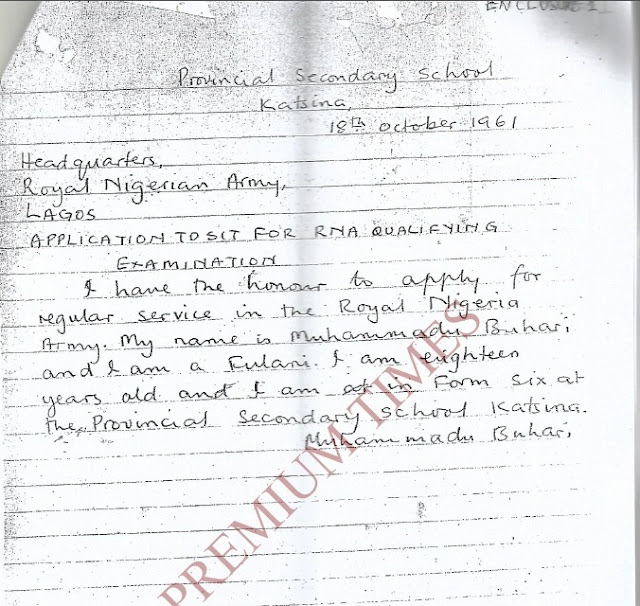Questions Still Remain About Buhari's School Certificate