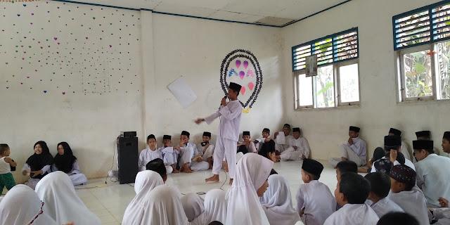 Peringatan Maulid Nabi Muhammad SAW Di MIS Nurul Huda Rokan Hulu, Riau