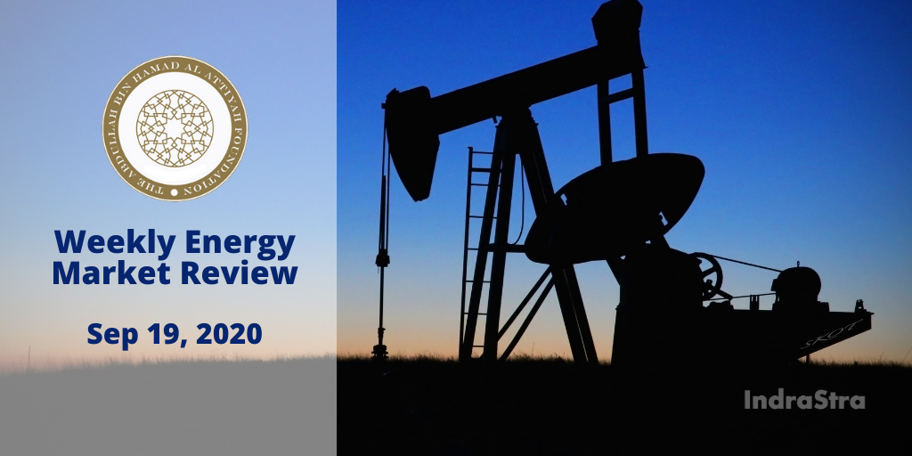 Al Attiyah Foundation's Weekly Energy Market Review - Sep 19, 2020
