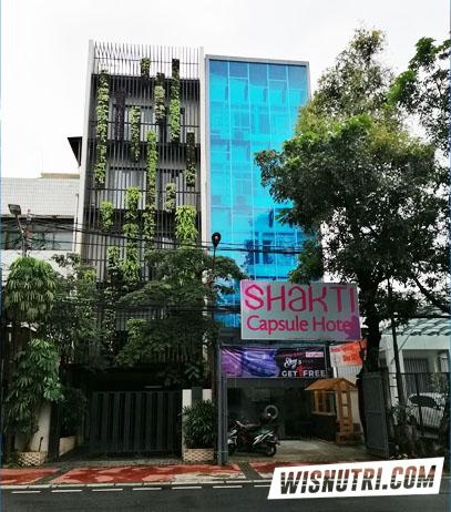 Review Menginap di Shakti Capsule Hotel Jakarta