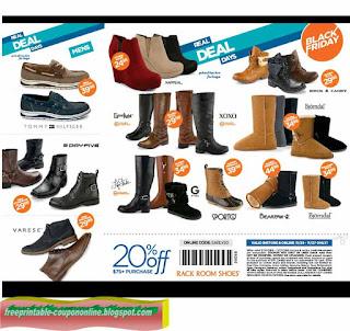 Free Printable Rack Room Shoes Coupons