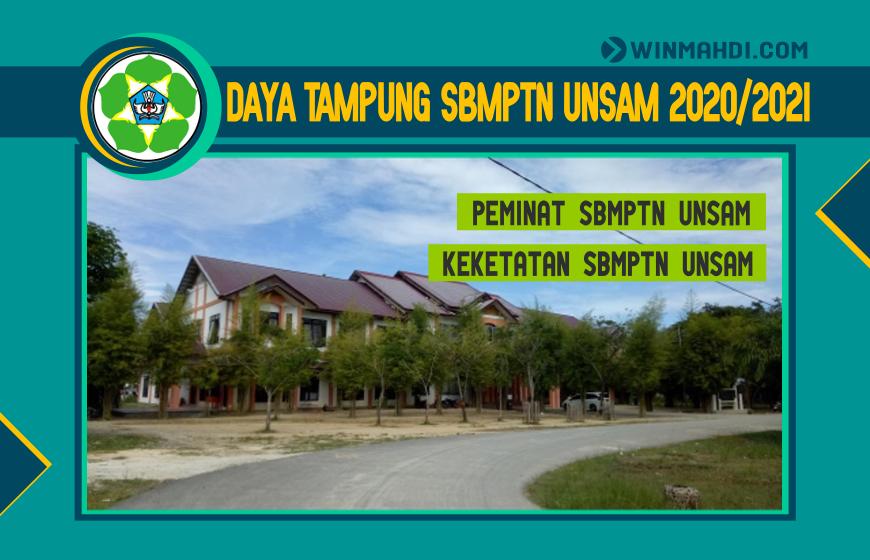 DAYA TAMPUNG SBMPTN UNSAM 2020-2021