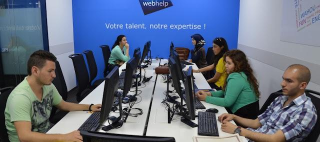 webhelp Maroc emploi recrutement