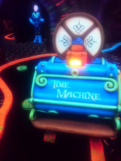 Time Machine GlowGolf in Amsterdam