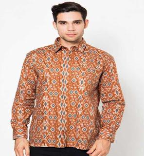 baju batik pria untuk kondangan