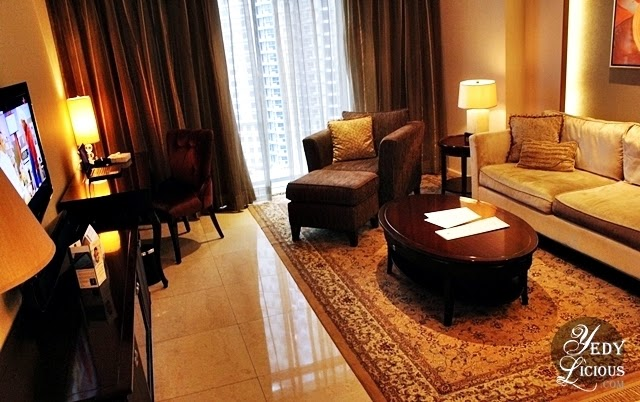 Oakwood Manila Ortigas / Living Room