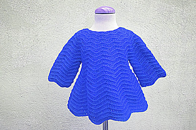7 - Crochet Imagenes Mangas para vestido rojo navidad a crochet y ganchillo por Majovel Crochet