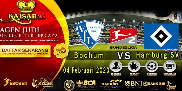 Prediksi Bola Terpercaya Liga Jerman 2 Bochum vs Hamburger 4 Februari 2020