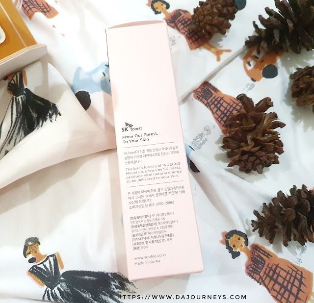 Review Soofee Phyto Birch Tree Soothing Dual Base