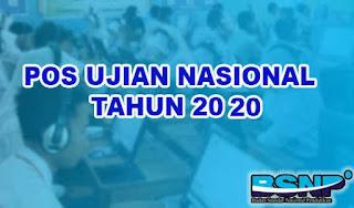 Download Juknis POS Ujian Nasional Tahun 2020 Jenjang SMP/MTs