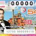 Lotería Nacional. Sorteo Mayor No. 3719 (martes 16 de julio de 2019)