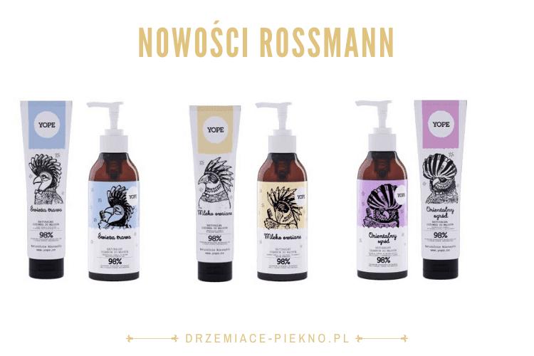 Nowości kosmetyczne Rossmann