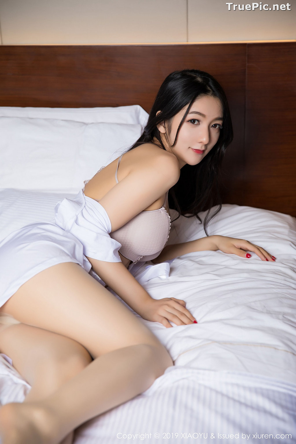 Image XiaoYu No.004 - Chinese Model - Xiao Reba (Angela喜欢猫) - White Sexy Nurse - TruePic.net - Picture-59