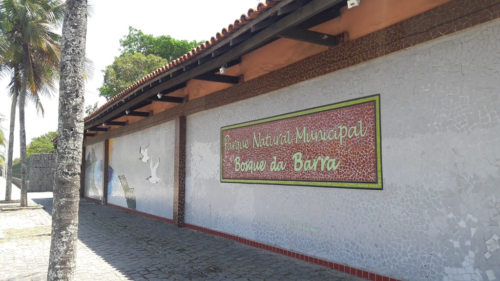 Entrada do Bosque da Barra