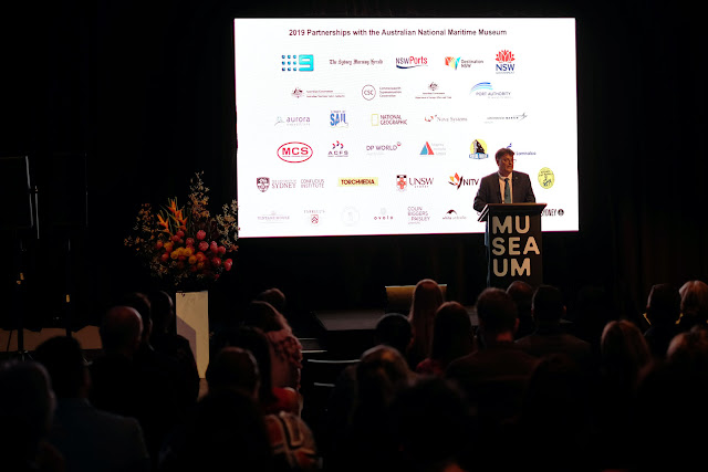 Speeches at the 2020 program launch Australian Maritime Museum Sydney