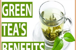 What are the benefits from drinking green tea