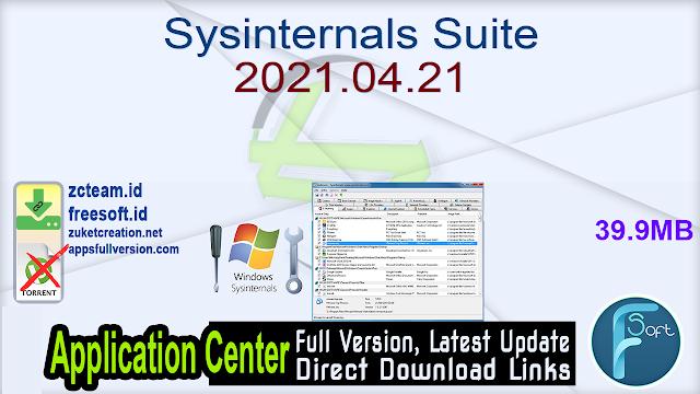 Sysinternals Suite 2021.04.21
