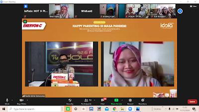 Happy Parenting di Masa Pandemi Radio Idola Semarang
